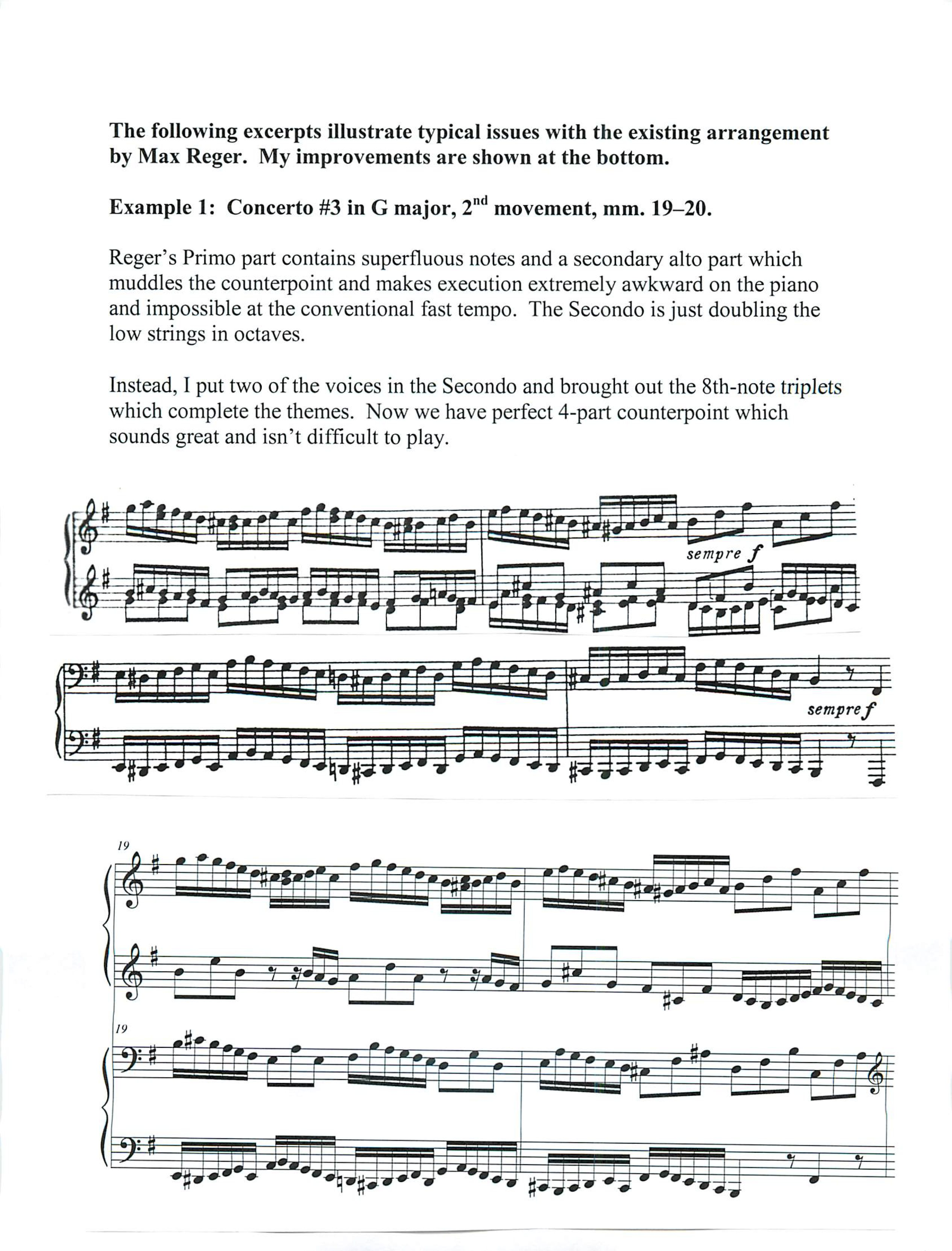 Example 1: Concerto #3 in G major, 2nd movement, mm. 19-20.