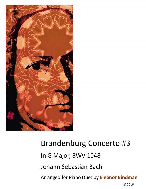 Brandenburg Concerto No. 3 Arranged for Piano Duet