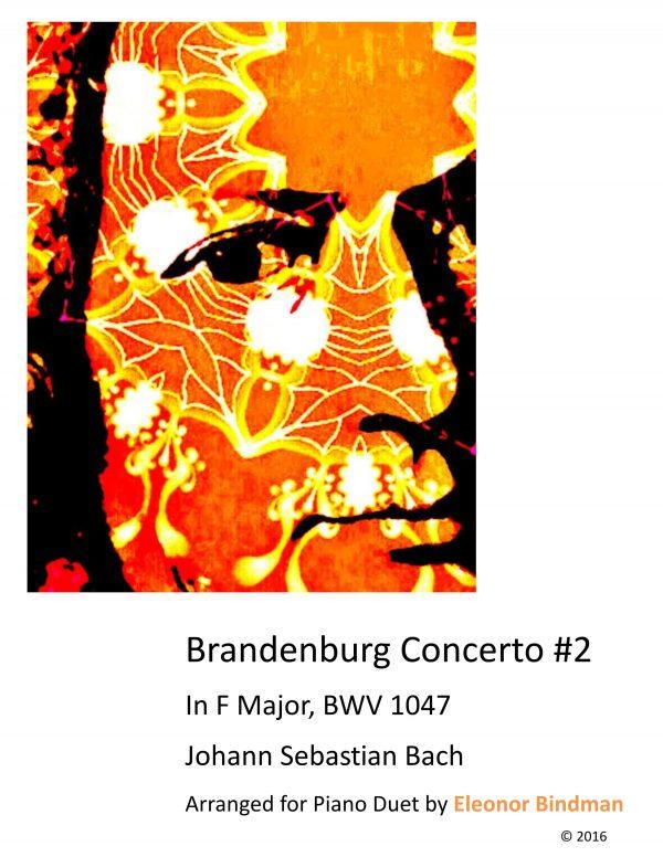 Brandenburg Concerto No. 2 Arranged for Piano Duet