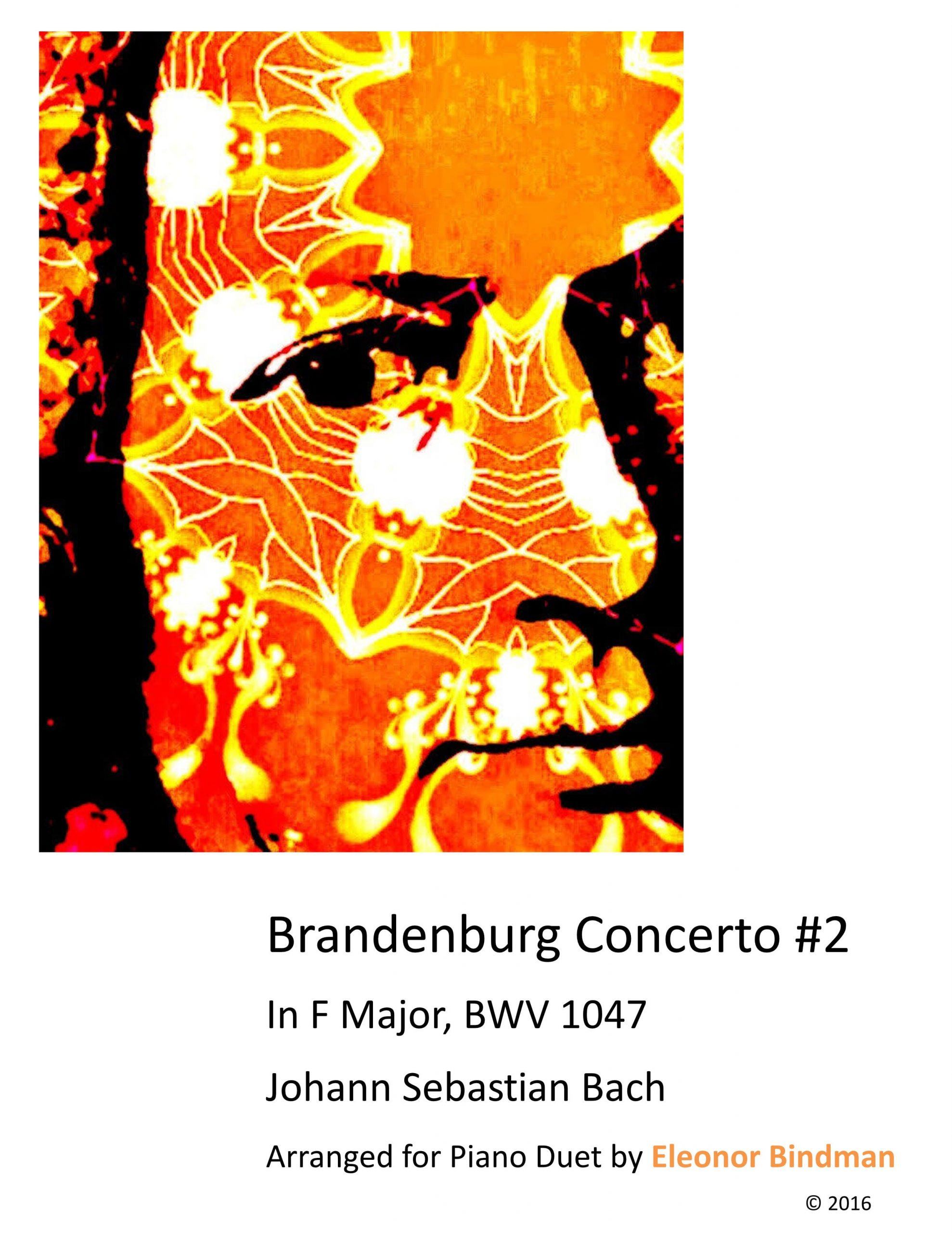 Brandenburg Concerto No. 2 Arranged for Piano Duet