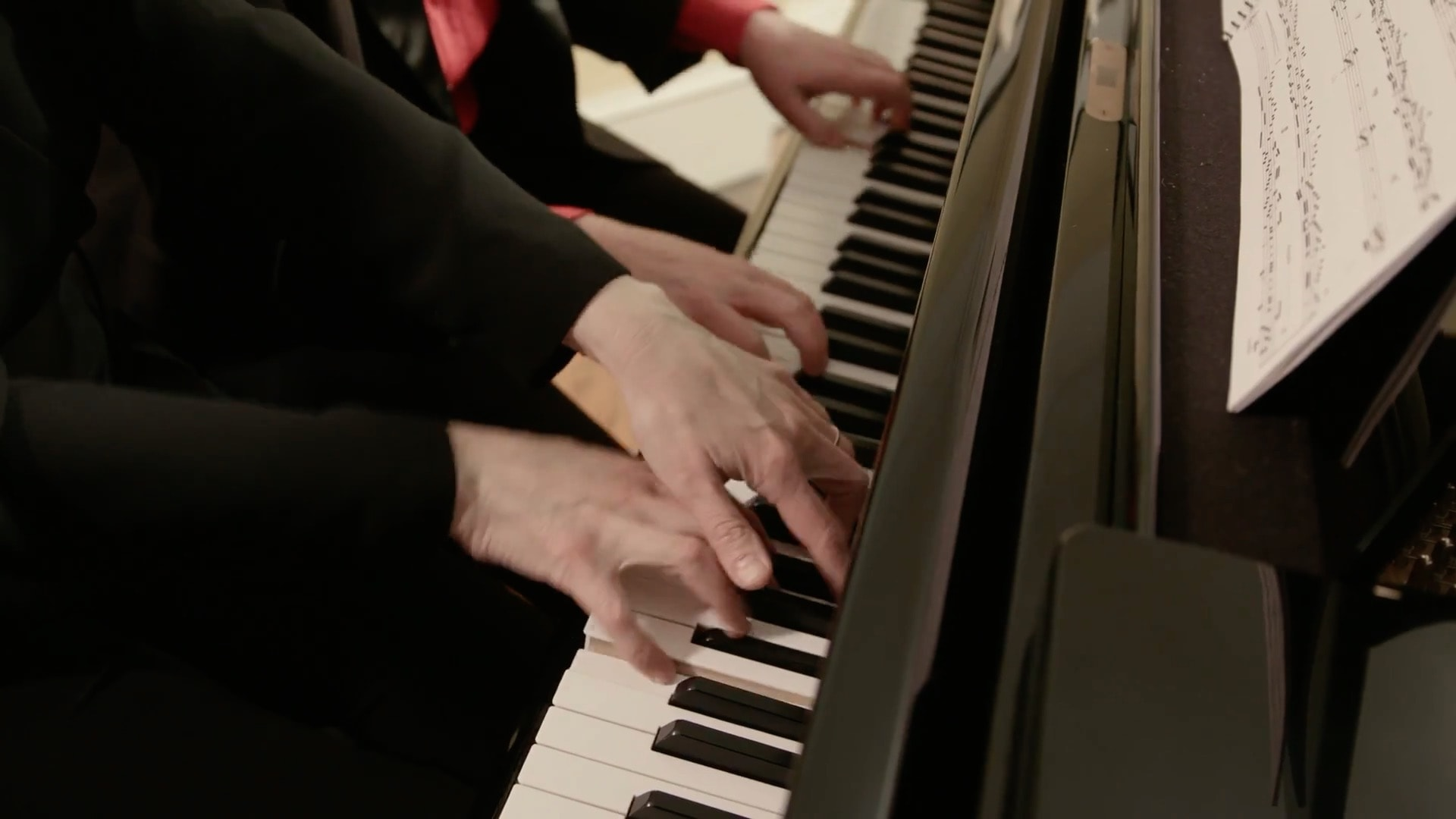 Four Hands on piano