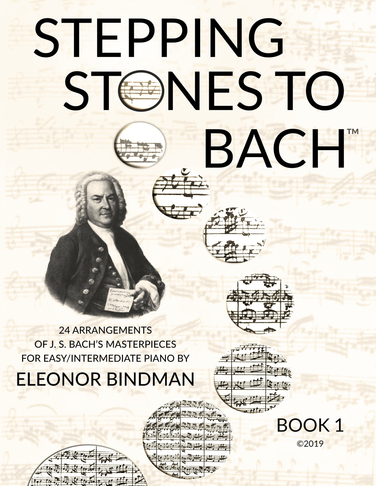 Stepping Stones to Bach Book Cover