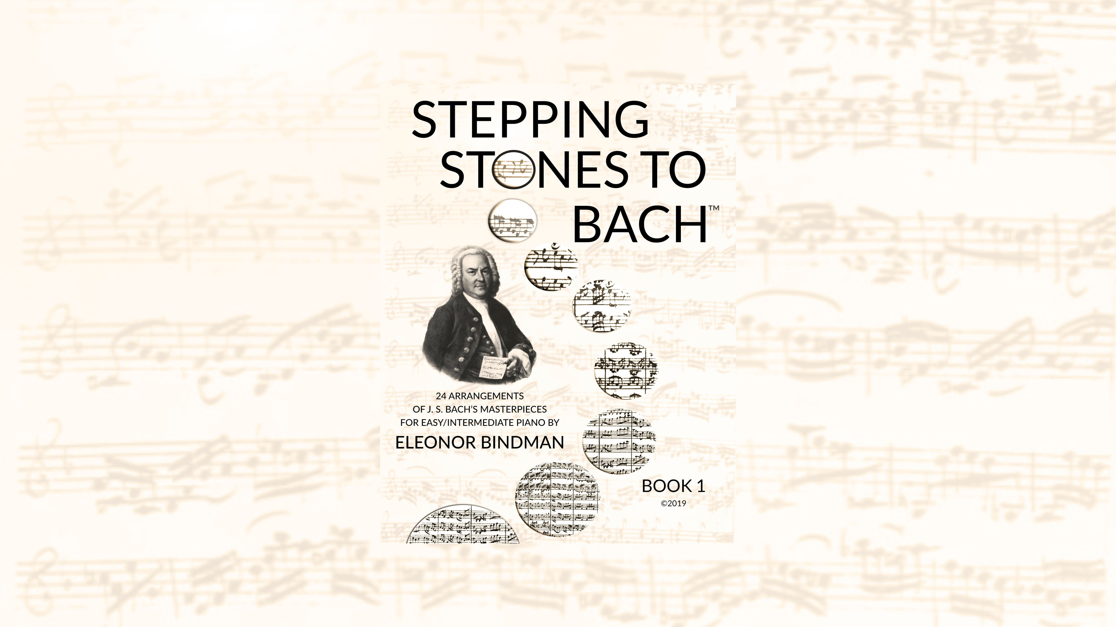 Stepping Stones to Bach Book