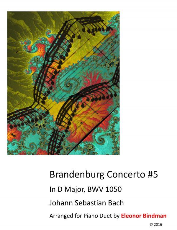 J.S. Bach: Brandenburg Concerto No. 5 for Piano Duet