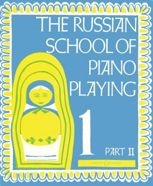 A cover of The Russian School of Piano Playing