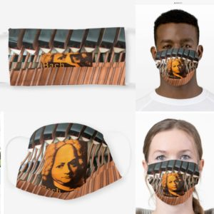 J.S. Bach Cello Suites Mask