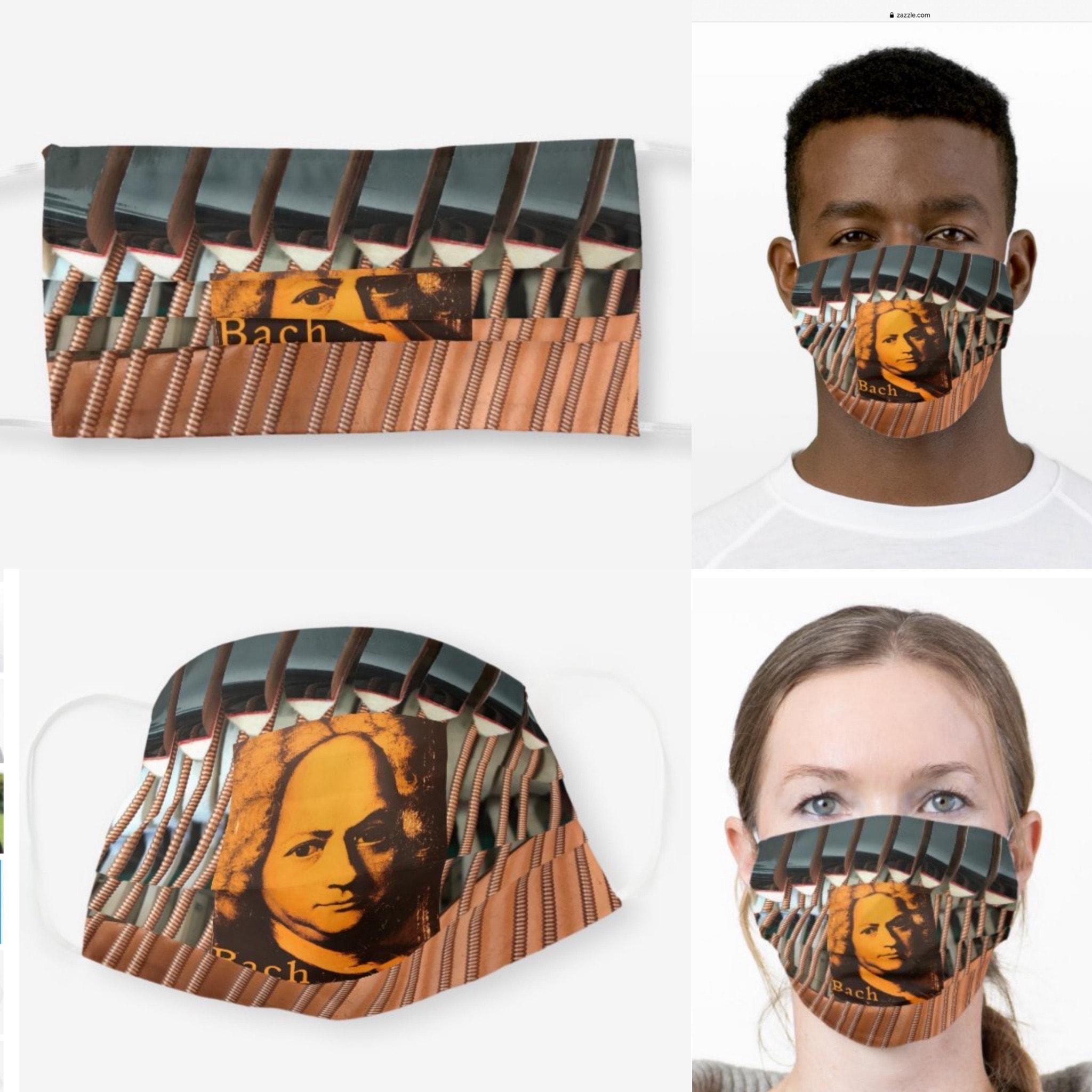 J.S. Bach Cello Suites Mask
